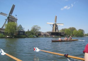 Windmühlen in Weesp (Foto: T. Jakobs)