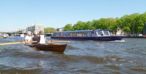An der Torontobrücke in Amsterdam (Foto: H. Druckrey)