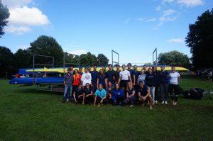 Team Rostock 2016 bei den DHM (Foto: H. Viemann)